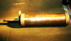 Vintage Brass CVA Black Powder FlasK /Muzzleloader W/ accessories