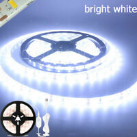 5M LED Strip Lights PIR Motion Sensor Cold White Closet Stairs Room USB Powered