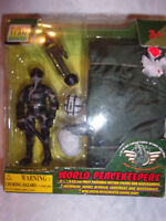 """Pow Team Elite World Peacekeepers 3.75"""" Poseable Action Figure & Accessories Toy"""