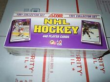 1991 Score NHL Hockey 440 Card Collector Set - New - unopened - sealed box