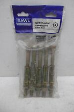 CLEARANCE LINE 5 X RAWLPLUG M12 75P SELF PROJECTING SHIELD ANCHORS 44 996