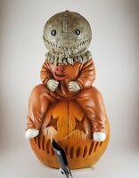 Trick 'r Treat Sam Light-Up Statue Lamp - Spirit Halloween horror movie or