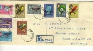 1963 ST.HELENA - TRISTAN DA CUNHA RESSETLEMENT REG. FDC FROM COLLECTION X47