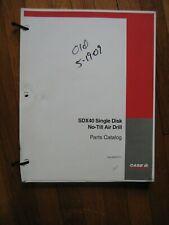 Case Ih Sdx40 No Till Air Drill Parts Catalog Manual