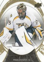 2015-16 Upper Deck Trilogy Hockey #50 Pekka Rinne Nashville Predators