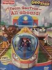 Fisher-Price GeoTrax Team GeoTrax -- All Aboard!  DVD  BRAND NEW
