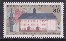 Germany 1472 MNH 1986 Heidelberg University 600th Anniversary Issue Very Fine