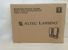 Altec Lansing Computer Laptop Auxillary Speakers ADA215