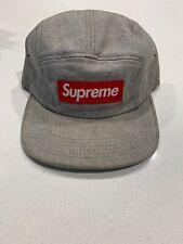 Supreme Grey Speckled Box Logo Camp Cap LV Monogram Camo Floral Red Hat