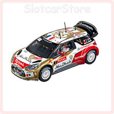 "Carrera Evolution 27460 Citroën DS3 WRC ""Total Abu Dhabi No.1"" Rally 1:32 Auto"