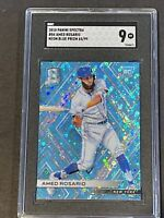 2018 Spectra Neon Blue Prizm /99 Amed Rosario RC Rookie SGC 9 PSA ?