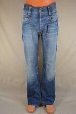 G-STAR RAW 3301 RADAR STRAIGHT Herren Jeans mittelblau W30 L34; K31 37