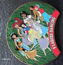 Disney WDW 12 Days Of Christmas 2000: 9 Ladies Dancing Pin