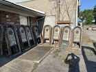 Bova 9 available price each antique arch top stained glass window 25.75 x 62 X 6