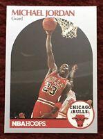 MICHAEL JORDAN 1990 - 1991 NBA Hoops #65 🏀 Chicago Bulls LAST DANCE