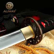 Authentic Japanese Handmade Carbon Steel Katana Samurai Sword