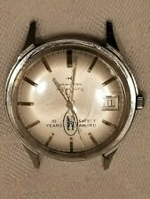 Vintage Hamilton Self Winding Mens Wrist Watch, Stainless Steel, Running