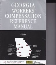 Georgia Workers Compensation Reference Manual 2017
