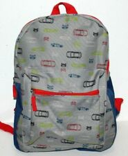 CARS DESIGN SCHOOL BAG PRE-SCHOOL BACKPACK BOYS 14.5