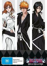 Bleach - Movie Collection (Movies 1-4) DVD R4 Brand New!!