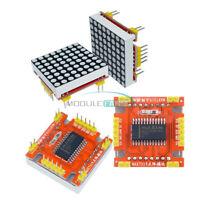 MAX7219 LED Dot Matrix Arduino Microcontroller Display Module Control 5V/3.3V