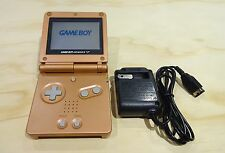 Nintendo Game Boy Advance GBA SP Copper Orange System AGS 001 MINT NEW