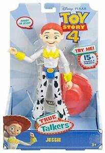 "Toy Story True Talkers Jessie Figure 8.8"" 15 Movie Phrases Moving Facial Feature"