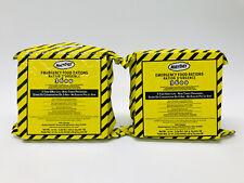 (2) 3600 Calorie Emergency Survival Food Bar Ration 9-Bar Packs, Car Kit Bug Out