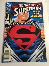 Adventures of SUPERMAN #596 Twin Towers 9/11 RECALL 2001 NM/Mint Day after 911