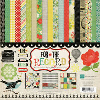 Echo Park Paper FOR THE RECORD Collection Kit 12x12