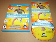 Your Shape: Fitness Evolved 2013 for Nintendo Wii U Complete Fast Shipping