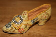 """Just The Right Miniature Shoe """" Afternoon Tea"""" Raine # 25016 in box ( 1998)"""