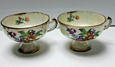 Beautiful Fine China Cups x 2 Made In Japan 5065