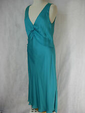 SZ 14 MONICA TURQUOISE DRESS DESIGNER