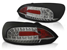 VW SCIROCCO III 2008-2011 2012 2013 2014 TAIL LIGHTS LDVWI4 BLACK LED