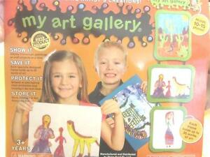 My ART GALLERY Product of Year Display Store Your Kids Art SEE VIDEO Gift Mom