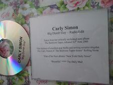 Carly Simon – Big Dumb Guy Label: Arista Records  CDr UK Promo CD Single