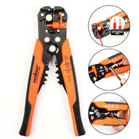 Self-Adjusting Insulation Wire Stripper cutter crimper Terminal Tool Pliers 8""