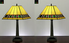 Mother's Day Special - Tiffany London Mission Stained Glass Bedside Table Lamp