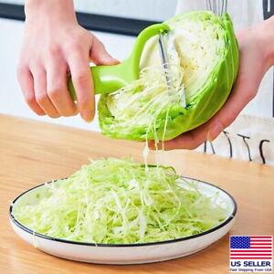 Stainless Steel Potato Peeler Cabbage Lettuce Head Grater Shredder Slicer Salad