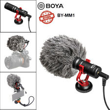 Universal BOYA BY-MM1 Video Mic Microphone Condensor For Nikon Canon DSLR Camera