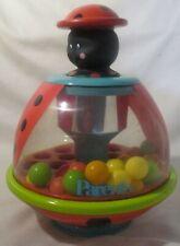 Vintage PARENTS Magazine Development push top Toy balls spinning lady bug