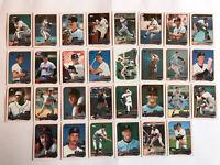 1989 SAN FRANCISCO GIANTS Topps COMPLETE Baseball Team SET 30 Cards CLARK BUTLER