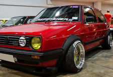 VW GOLF2 MK2 FENDER FLARES - wide arches - New!