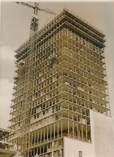 Premier gratte-ciel de Paris rue Croulebarde tirage argentique époque 1960