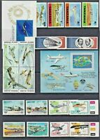 AVIATION Aircraft Thematic STAMP Collection 1969s-1990s All UNMOUNT MINT Re:T749