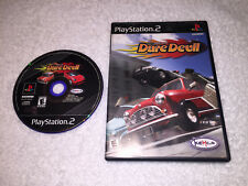 Top Gear Dare Devil (Sony PlayStation 2, 2000) PS2 Black Label Game in Case Nice