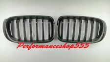 Front Kidney Grille Glossy Black OE Style For BMW F25 LCI X3,F26 X4 2014-2015