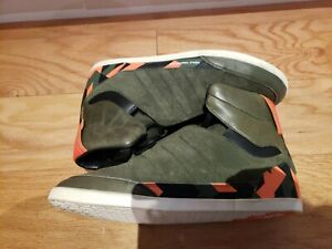 Adidas Y-3 Yohji Yamamoto Honja High Limited Edition Size 8.5 Green and Orange