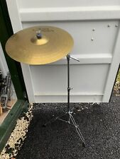 "Free P&P 20"" Paiste 302 Ride Cymbal and Disappearing Boom Cymbal Stand RCS007071"